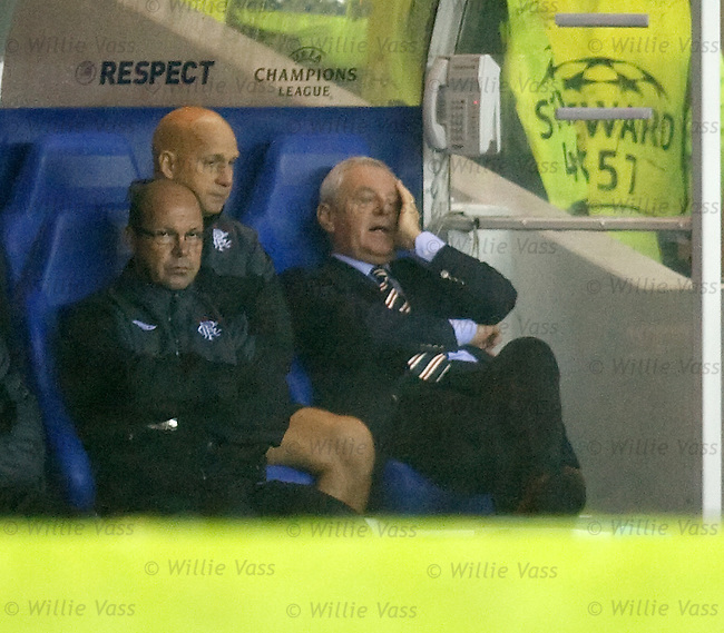 Walter Smith can't bear to watch