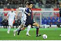 Yasuyuki Konno (JPN),.FEBRUARY 24, 2012 - Football / Soccer :.Kirin Challenge Cup 2012 match between Japan 3-1 Iceland at Nagai Stadium in Osaka, Japan. (Photo by Takamoto Tokuhara/AFLO)