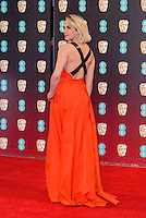 www.acepixs.com<br /> <br /> February 12 2017, London<br /> <br /> Jessica Brown Findlay arriving at the 70th EE British Academy Film Awards (BAFTA) at the Royal Albert Hall on February 12, 2017 in London, England<br /> <br /> By Line: Famous/ACE Pictures<br /> <br /> <br /> ACE Pictures Inc<br /> Tel: 6467670430<br /> Email: info@acepixs.com<br /> www.acepixs.com