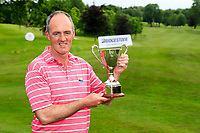 Eddie McCormack (Galway Bay) winner after the final of the 2018 Connacht Stroke Play Championship, Portumna Golf Club, Portumna, Co Galway.  10/06/2018.<br /> Picture: Golffile | Fran Caffrey<br /> <br /> <br /> All photo usage must carry mandatory copyright credit (&copy; Golffile | Fran Caffrey)