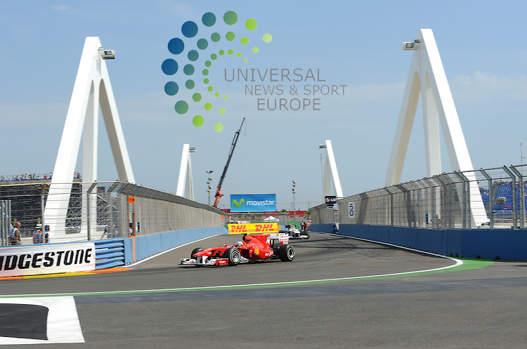 F1 GP of Europe, Valencia 24.- 27. June 2010.Fernando Alonso (ESP),  Scuderia Ferrari ..Picture: Hasan Bratic/ Universal News And Sport (Europe) 26 June 2010.