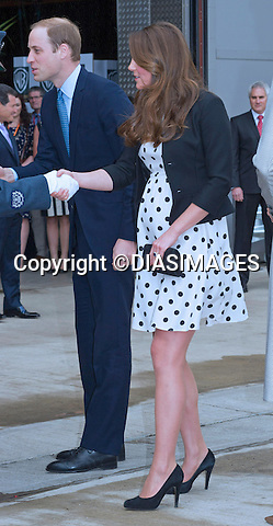 """CATHERINE, DUCHESS OF CAMBRIDGE TOGETHER WITH PRINCES WILIAM AND HARRY.visited the Warner Bros Studios, where the """"Harry Potter"""" film was shot in Leavesden, Hertfordshire_26/04/2013.The Duchess is 7 months into her pregnancy..Mandatory credit photo:©DiasImages/NEWSPIX INTERNATIONAL..**ALL FEES PAYABLE TO: """"NEWSPIX INTERNATIONAL""""**..PHOTO CREDIT MANDATORY!!: NEWSPIX INTERNATIONAL(Failure to credit will incur a surcharge of 100% of reproduction fees)..IMMEDIATE CONFIRMATION OF USAGE REQUIRED:.Newspix International, 31 Chinnery Hill, Bishop's Stortford, ENGLAND CM23 3PS.Tel:+441279 324672  ; Fax: +441279656877.Mobile:  0777568 1153.e-mail: info@newspixinternational.co.uk"""