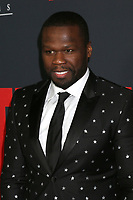 "LOS ANGELES - JAN 17:  Curtis Jackson, 50 Cent at the ""Den of Thieves"" Premiere at Regal LA Live Theaters on January 17, 2018 in Los Angeles, CA"