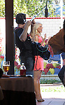 OCTOBER 17TH 2012  EXCLUSIVE <br /> <br /> <br /> GRETCHEN ROSSI FILMING A COOKING SHOW CALLED CELEBRITY WEBCHEFS AT THE 4 SEASON HOTEL IN WESTALKE VILLAGE CALIFORNIA. <br /> WEARING A TIGHT PINK PEACH COLORED DRESS SHOWING OFF HER LEGS. <br /> Alan Thicke was also on the show <br /> <br /> <br /> AbilityFilms@yahoo.com<br /> 805 427 3519 <br /> www.AbilityFilms.com