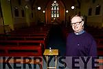 Fr Pat Crean Lynch in the Purification Church Churchill on Tuesday