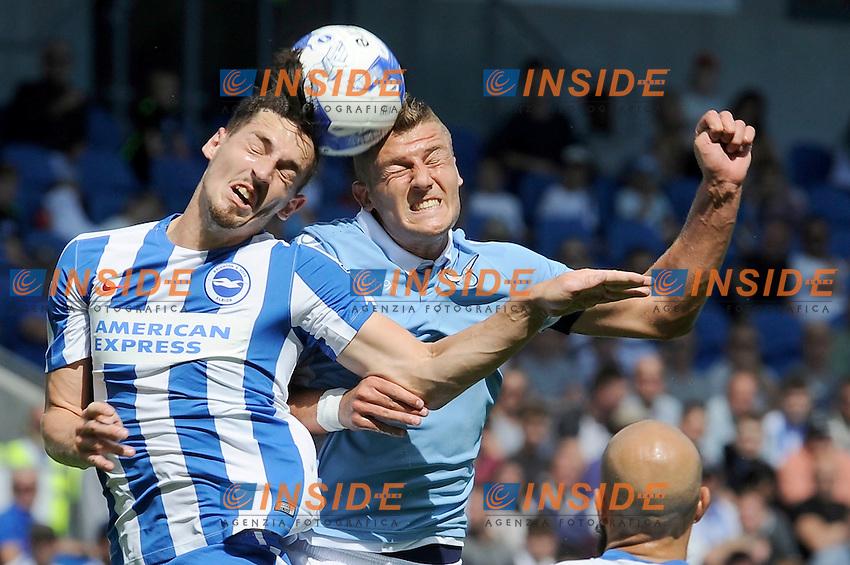 Lewis dunk, Sergej Milinkovic Savic<br /> 31-07-2016 Brighton, <br /> Amichevole Brighton Vs Lazio<br /> SS Lazio friendly match <br /> @ Marco Rosi / Fotonotizia / Insidefoto