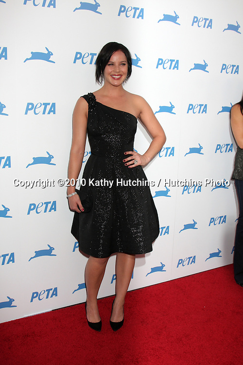 LOS ANGELES - SEP 25:  Abbie Cornish arrives at the PETA 30th Anniversary Gala at Hollywood Palladium on September 25, 2010 in Los Angeles, CA