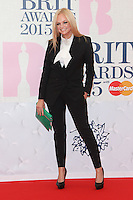 Emma Bunton arriving at The Brit Awards 2015 (Brits) held at the O2 - Arrivals, London. 25/02/2015 Picture by: James Smith / Featureflash