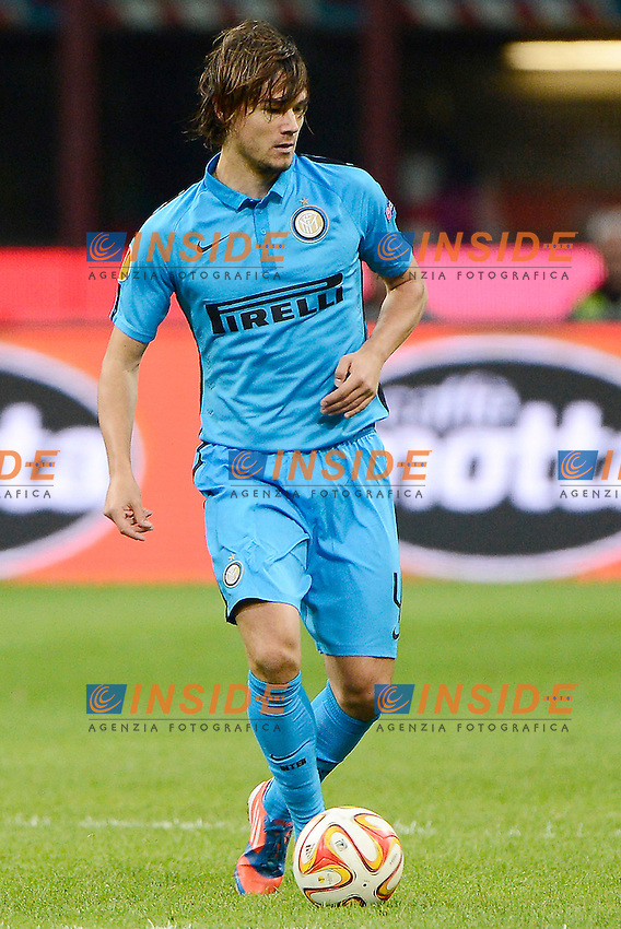 Rene Krhin Inter<br /> Milano 23-10-2014 Stadio Giuseppe Meazza - Football Calcio Europa League Inter - Saint Etienne. Foto Giuseppe Celeste / Insidefoto