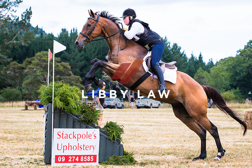 NZL-Abbie Robinson (BRAVE PROMISE) 1ST-1B NZPC 105: 2015 NZL-Hunua Pony Club ODE (Sunday 1 February) CREDIT: Libby Law COPYRIGHT: LIBBY LAW PHOTOGRAPHY