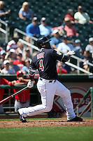Jose Uribe - Cleveland Indians 2016 spring training (Bill Mitchell)