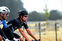 Campbell Stewart (New Zealand National Team) after winning stage two of the NZ Cycle Classic UCI Oceania Tour (Gladstone circuit) in Wairarapa, New Zealand on Thursday, 16 January 2020. Photo: Dave Lintott / lintottphoto.co.nz