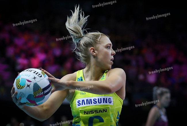 29/10/17 Fast5 2017<br /> Fast 5 Netball World Series<br /> Hisense Arena Melbourne<br /> Australia v South Africa <br /> Kate Moloney<br /> <br /> <br /> <br /> <br /> <br /> Photo: Grant Treeby