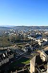 20080110 - France - Aquitaine - Pau<br /> VUES DEPUIS LE CHATEAU DE PAU SUR LA VILLE, LE GAVE ET LES PYRENEES.<br /> Ref : PAU_056.jpg - © Philippe Noisette.