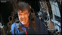 BNPS.co.uk (01202 558833)<br /> Pic: TopGear/BBC<br /> <br /> Top Gears Jeremy Clarkson only managed a 'wimpish' 3 G in 2000.<br /> <br /> Sci-fi 'Centrifuge' to open its doors to the public after 64 years...<br /> <br /> A remarkable Cold War relic which has put thousands of pilots through their G-force paces has made its final spin after six decades. <br /> <br /> The Top Secret building at the former RAE Farnborough test site is now open to the public for guided tours led by the scientists from FAST who used to work there.<br /> <br /> The Farnborough Centrifuge was used to simulate huge 9G forces - nine times more than a human body is designed to absorb - they would encounter while flying fast jets during combat operations.<br /> <br /> The pilot would sit in a small compartment replicating a cockpit at the end of the 60ft rotating arm and be propelled at over 60mph, spinning 30 times a minute.<br /> <br /> A staggering 122,133 tests were performed on it before it was decommissioned in March this year, with a new centrifuge installed at RAF Cranwell.<br /> <br /> It featured on an episode of Top Gear in 2000 when Jeremy Clarkson had a go on it at 3G, leaving him in obvious discomfort. He described the force exerted on him as like 'having an elephant sat on my chest'.<br /> <br /> The centrifuge, which is being displayed for the public for the first time, also appeared in the 1985 comedy film Spies Like Us starring Chevy Chase and Dan Ackroyd.