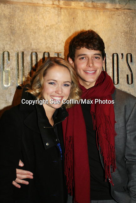 All My Children's Brianne Moncrief & Daniel Kennedy at the ABC Daytime Casino Night on October 23, 2008 at Guastavinos, New York CIty, New York. (Photo by Sue Coflin/Max Photos)