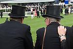 The new parade ring. Horse racing at Royal Ascot, Berkshire, England. 2006.