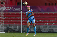 Bridgeview, IL - Sunday June 04, 2017: Samantha Johnson during a regular season National Women's Soccer League (NWSL) match between the Chicago Red Stars and the Seattle Reign FC at Toyota Park. The Red Stars won 1-0.