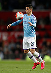 Joao Cancelo of Manchester City chests the ball under control during the Premier League match at Old Trafford, Manchester. Picture date: 8th March 2020. Picture credit should read: Darren Staples/Sportimage