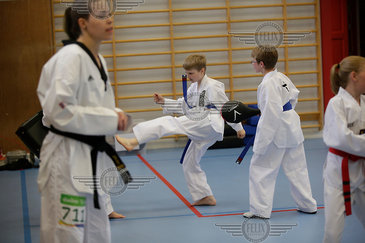 Tina R&oslash;e Skaar<br /> Keum Gang Taekwondo St.Hanshaugen<br /> <br /> &copy;Fredrik Naumann/Felix Media
