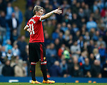 Bastian Schweinsteiger of Manchester United during the Barclays Premier League match at The Etihad Stadium. Photo credit should read: Simon Bellis/Sportimage