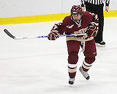 Danielle Welch (BC - 17) - The Harvard University Crimson defeated the Boston College Eagles 5-0 in their Beanpot semi-final game on Tuesday, February 2, 2010 at the Bright Hockey Center in Cambridge, Massachusetts.
