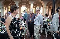 Class dinners. Alumni, family and friends celebrate Alumni Reunion Weekend on Saturday, June 22, 2019 on the campus of Occidental College. This year was for the classes of 1969, 1974, 1979, 1984, 1989, 1994, 1999, 2004, 2009 & 2014.<br /> (Photo by Marc Campos, Occidental College Photographer)