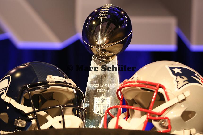 - Gemeinsame Team Pressekonferenz Super Bowl XLIX, Convention Center Phoenix