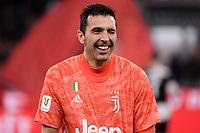 Gianluigi Buffon of Juventus <br /> Milano 13/02/2020 Stadio San Siro <br /> Football Italy Cup 2019/2020 <br /> AC Milan - Juventus FC <br /> Photo Federico Tardito / Insidefoto