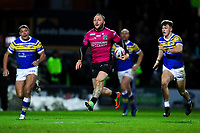 Picture by Alex Whitehead/SWpix.com - 08/03/2018 - Rugby League - Betfred Super League - Leeds Rhinos v Hull FC - Emerald Headingley Stadium, Leeds, England - Hull FC's Josh Griffin makes a break.