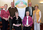 John and Mary Carroll, Tom and Ann Stanley, Eileen Rooney and Marie Mellows at the Coffee Morning in the Glenside in aid of Jack and Jill Foundation and S.O.F.T Ireland...Photo NEWSFILE/Jenny Matthews.(Photo credit should read Jenny Matthews/NEWSFILE)....This Picture has been sent you under the condtions enclosed by:.Newsfile Ltd..The Studio,.Millmount Abbey,.Drogheda,.Co Meath..Ireland..Tel: +353(0)41-9871240.Fax: +353(0)41-9871260.GSM: +353(0)86-2500958.email: pictures@newsfile.ie.www.newsfile.ie.FTP: 193.120.102.198.