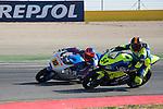 CEV Repsol en Motorland / Aragón <br /> a 08/06/2014 <br /> En la foto :<br /> moto2 races<br /> raffin<br /> woodbine<br />RM/PHOTOCALL3000