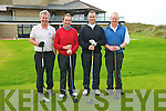 Captain's Day : Compeeting in the Captain's Day event at Ballybunio Golf Club on Saturday last were John Bambury, Eamonn Fitzmaurice, Kevin Barry & Tom Keane.