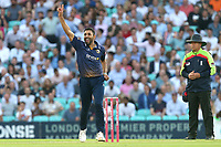 Ravi Bopara of Essex appeals for a wicket during Surrey vs Essex Eagles, Vitality Blast T20 Cricket at the Kia Oval on 12th July 2018