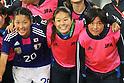 (L to R) Asano Nagasato, Homare Sawa, Shinobu Ono (JPN), September 11, 2011 - Football / Soccer : Women's Asian Football Qualifiers Final Round for London Olympic Match between Japan 1-0 China at Jinan Olympic Sports Center Stadium, Jinan, China. (Photo by Daiju Kitamura/AFLO SPORT) [1045]
