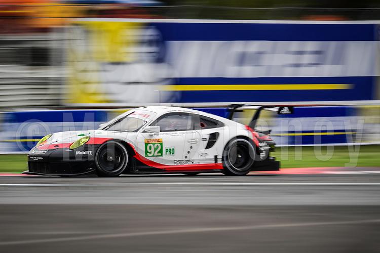 #92 PORSCHE GT TEAM  (DEU) PORSCHE 911 RSR LMGTE PRO  MICHAEL CHRISTENSEN (DNK) KEVIN ESTRE (FRA)