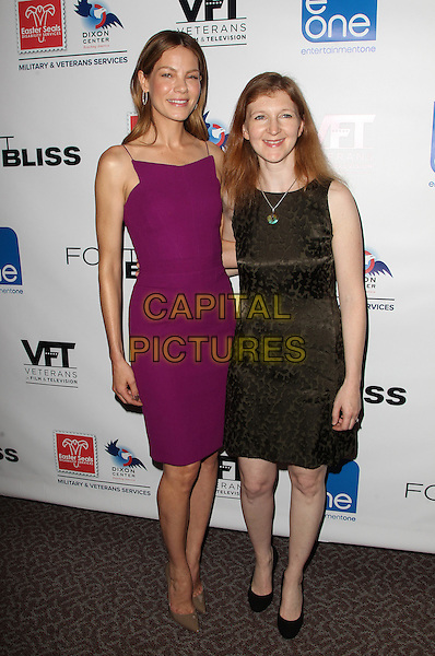 11 September 2014 - Los Angeles, California - Michelle Monaghan, Claudia Myers. &quot;Fort Bliss&quot; - Los Angeles Special Screening Held At DGA Theater .   <br /> CAP/ADM/FS<br /> &copy;Faye Sadou/AdMedia/Capital Pictures