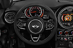 Car pictures of steering wheel view of a 2016 MINI MINI Cooper-S-Fwd 2 Door Convertible Steering Wheel