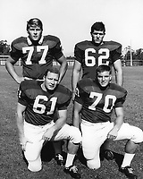 1966: Orange County Players. Front row, l to r: Bob Arnon, Bob Heffernan. Second row, l to r: Blaine Nye, Phil Messer.
