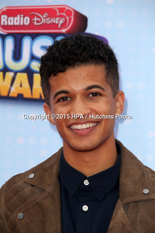 LOS ANGELES - FEB 25:  Jordan Fisher at the Radio DIsney Music Awards 2015 at the Nokia Theater on April 25, 2015 in Los Angeles, CA