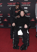 "WEST HOLLYWOOD, CA - OCTOBER 13, 2016:  Ben Vereen and Tim Curry at the red carpet premiere of Fox's ""The Rock Horror Picture Show: Lets Do the Time Warp Again"" at The Roxy on October 13, 2016 in West Hollywood, California. Credit: mpi991/MediaPunch"