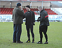 02/01/2010  Copyright  Pic : James Stewart.sct_jspa05_falkirk_v_st_johnstone  .:: REFEREE STEVIE O'REILLY EXPLAINS HIS DECISION TO CALL THE GAME OFF TO FALKIRK MANAGING DIRECTOR GEORGE CRAIG :: .James Stewart Photography 19 Carronlea Drive, Falkirk. FK2 8DN      Vat Reg No. 607 6932 25.Telephone      : +44 (0)1324 570291 .Mobile              : +44 (0)7721 416997.E-mail  :  jim@jspa.co.uk.If you require further information then contact Jim Stewart on any of the numbers above.........