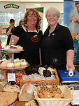 Christine Dyas and Gabrielle Hickey pictured at the Heritage and Harvest festival at An Grianan. Photo: www.pressphotos.ie