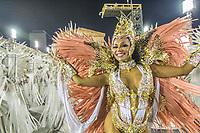 Rio de Janeiro (RJ) 24/02/20 Carnaval- Rio - Apresentação da escola de samba Unidos da Tijuca do grupo especial, no segundo dia de desfile no Sambódromo na Marquês de Sapucaí nesta segunda - feira de Carnaval (24)