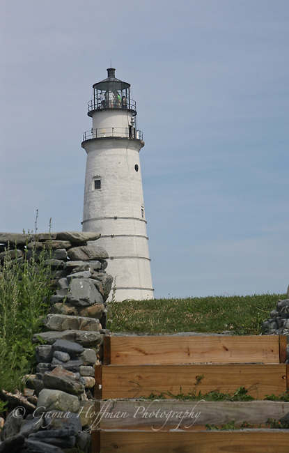 The Boston Light, Little Brewster Island, MA