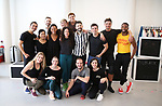 """Choreographer Al Blackstone and company during a press Sneak-Peek for The Joyce Theater's presentation of """"Freddie Falls in Love"""" at Gibney Dance on July 15, 2019 in New York City."""