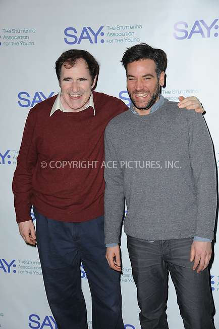 WWW.ACEPIXS.COM<br /> January 12, 2015 New York City<br /> <br /> Richard Kind and Josh Radnor attending the Third Annual Paul Rudd All-Star Bowling Benefit for The Stuttering Association for the Young (SAY) at Lucky Strike Lanes &amp; Lounge on January 12, 2015 in New York City.<br /> <br /> Please byline: Kristin Callahan/AcePictures<br /> <br /> ACEPIXS.COM<br /> <br /> Tel: (212) 243 8787 or (646) 769 0430<br /> e-mail: info@acepixs.com<br /> web: http://www.acepixs.com