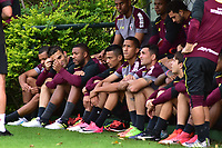 SÃO PAULO,SP - 06.06.2017 - FUTEBOL-SÃO PAULO - Jogadores, durante treino técnico do Sao Paulo FC realizado na Centro de Treinamento da Barra Funda , zona oeste de São Paulo, na tarde desta terça-feira, 06 (Foto: Eduardo Carmim/Brazil Photo Press)