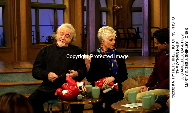 ©2002 KATHY HUTCHINS / HUTCHINS PHOTO.THE OTHER HALF.LOS ANGELES, CA 4/17/02.MARTY INGES & SHIRLEY JONES