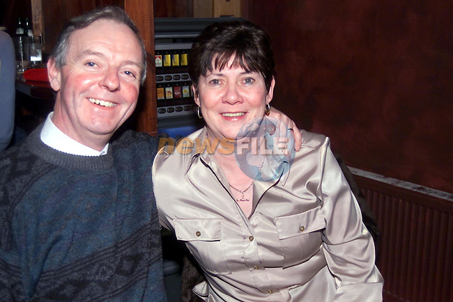 John and patricia Rodgers in mother Hughes..Picture Fran Caffrey Newsfile.